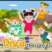 Flashdisk Kartun Diva The Series (bisa di putar di TV, Laptop,PC&HP)