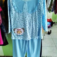 baju tidur anak stelan anak merk amro untuk umur 6-8TH
