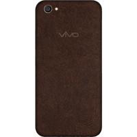 [EXACOAT] Vivo V5 Plus Skin / Garskin - Leather Brown