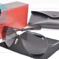Sunglasses Kacamata Model Macho AO Skymaster Aviator Hitam