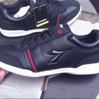 Sepatu Diadora Black All Original BNIB-Airwalk Dc Reebok Skechers Nike