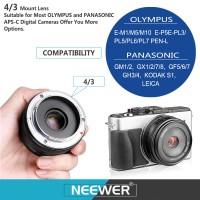 Neewer 28mm f/2.8 Lens for OLMPUS/PANASONIC E-M1/M5/M10