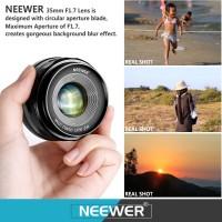 Neewer 35mm f/1.7 Lens for OLYMPUS/PANASONIC GX1/2/7/8, GF5/6/7