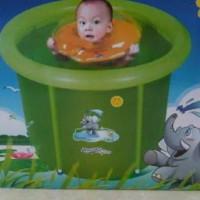 Harga murah Kolam Spa Bayi Baby Flow 90 x 90 cm Perlengkapan Mandi Bay