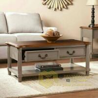 Jual Coffee Table Meja Ruang Tamu Meja Laci Meja Makan Kecil Lesehan Kab Jepara Gallery Mebel Tokopedia
