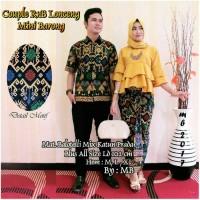 Jual sarimbit couple batik prodo rnb lonceng ruffle lilit Murah