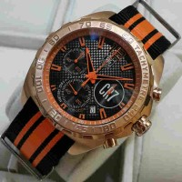 Tagheuer CR 7 Rosegold Orange Canvas Limited Edition