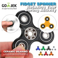 Fidget Spinner Keramik / Ceramic Ball Bearing Tri-Spinner Hand Toys