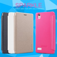 Nillkin Flip Case (Sparkle Leather Case) - Oppo Mirror 5/5S (A51)