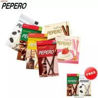 Jual PEPERO SET FREE 1 PEPERO ALMOND OR WHITE COOKIES Murah