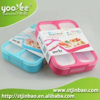 Lunch Box Grid Yooyee 3 Sekat Anti Tumpah
