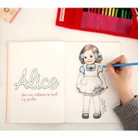 Jual Paper Doll Mate Coloring Book / Buku Mewarnai Murah