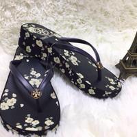 Tory Burch Wedges Flip Flop Sandal