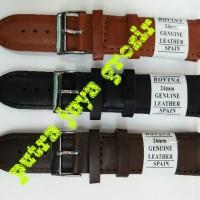 Jual tali kulit jam tangan/strap jam tangan/leather genuine Murah
