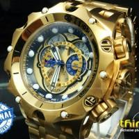 JAM TANGAN PRIA INVICTA VENOM FULL GOLD