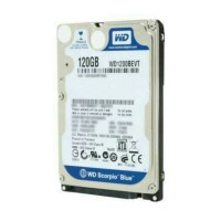 HDD/hardisk 120gb wd blue 2'5inci for laptop notebook