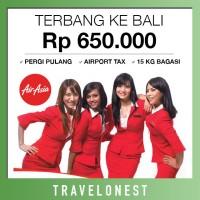 Tiket Pesawat Air Asia Promo| Pulang Pergi Bali Murah | Free Bagasi