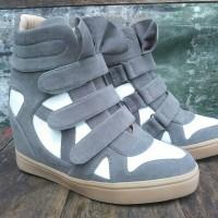 Jual sneaker wedges sepatu wanita heels boots tumblr vintage shoes Murah