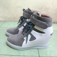 sneaker hidden wedges sepatu wanita kets boots heels korea shoes nike