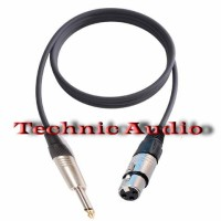 Harga jual kabel mic jadi plus jack xlr female to jack akai male 0 | antitipu.com