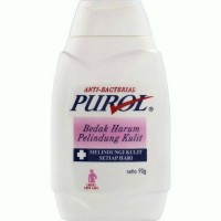 Purol pink 90 gram bedak gatal alergi harum