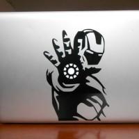 Jual Garskin laptop Stiker Ironman Sticker Vinyl Decal Marvel Super hero Murah