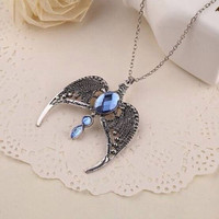 Rowena Ravenclaw Lost Diadem (Horcrux) Necklace | Kalung Harry Potter