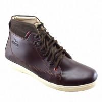 Sepatu Boots Santai Kampus dan Kerja Redknot Monsta Brown Casual