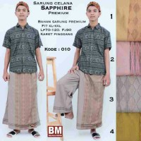 Sarung celana sapphire kode 010 by BM