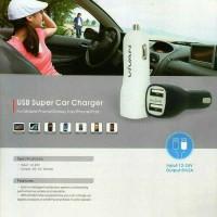 ORIGINAL CAR CHARGER PRO FULL KABEL FOR IPHONE 5 6 7 IPAD TAB SAMSUNG
