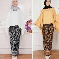 set Kebaya Modern, Kebaya Muslimah Modern, setelan Kebaya batik