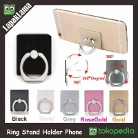 IRING I RING STAND HOLDER DUDUKAN CINCIN HP TABLET UNIVERSAL HANDPHONE