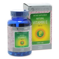 Wellness Natural Vitamin E-400 I.U - 150 Softgel