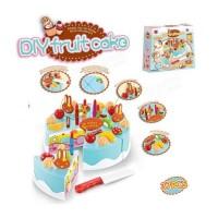 Mainan Anak Perempuan Masak Diy Fruit Cake Mainan Anak Cewek Kue Ultah