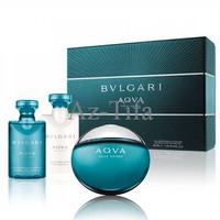 original parfum gift set Bvlgari Aqva Aqua Pour Homme 50ml edt