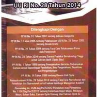 Buku Undang-Undang Hak Cipta: UU RI No. 28 Tahun 2014