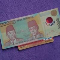 harga Uang Kuno Uang Lama 100.000 Rupiah Polymer Tahun 1999 Tokopedia.com