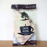 harga Daiso Coffee Filter Paper 1-4 cups Unbleach Tokopedia.com