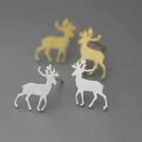 A/1 Earings Deer Anting Impor motif Rusa