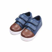 Sepatu Anak Sean Navy Toddler