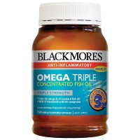 Jual Blackmores Odourless Omega Triple Concentrated Fish Oil - 150 caps Murah