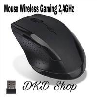 Mouse Wireless Gaming 2,4GHz 1600dpi Black Mirip Rapoo