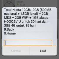 Kartu Perdana Simpati Loop 4G LTE bisa paket internet murah 10Gb=50rb