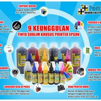 Tinta Sublim Korea Epson - Cyan - 100 ML