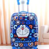 Tas Travel Anak / Tas Koper Petak Fiber Doraemon B 16 inch