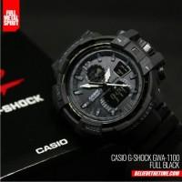 Jual Jam Tangan Pria Casio G-Shock GWA 1100 Full Black Murah