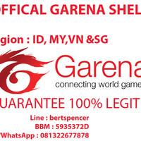 Voucher Garena 500 Shell