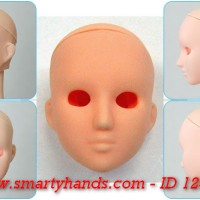 id 12506 - OBITSU Head for 27cm doll : Female #6