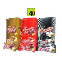 Delfi TOP Wafer - Chocolate, Black in White, Strawberry - 24x9 gr