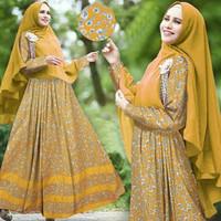 Hijab Syari Paquita Kuning